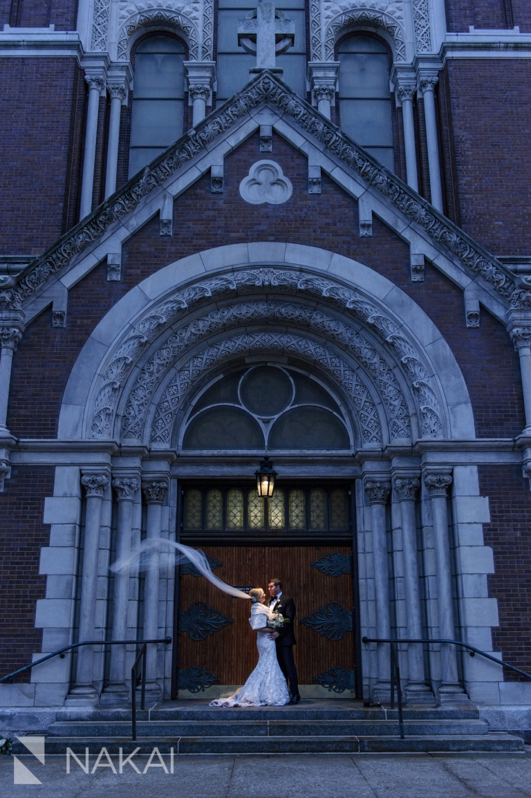 st michaels chicago wedding photographer ceremony catholic church