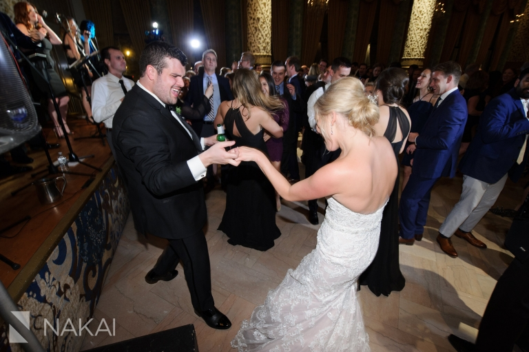 drake chicago wedding reception photos