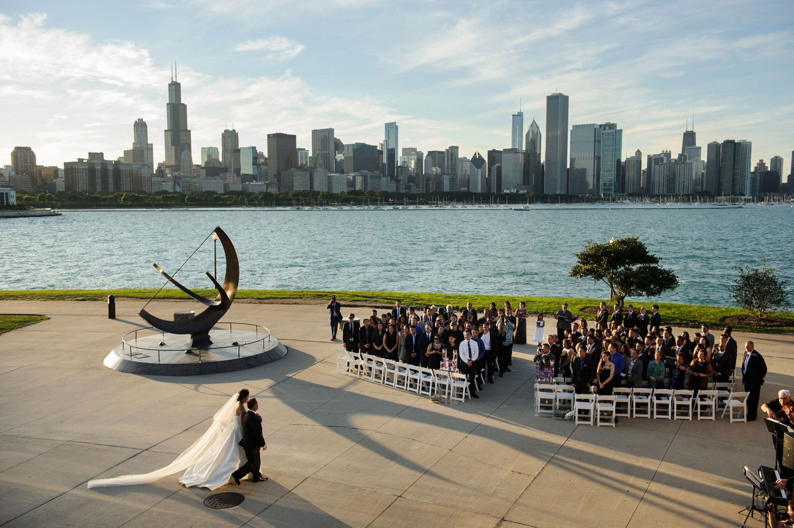 wedding documentary photojournalism photography chicago photographer ceremony adler