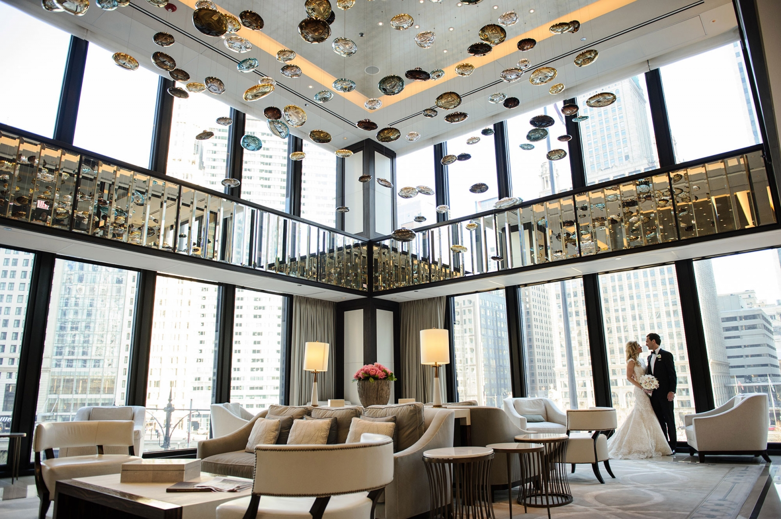 top chicago luxury wedding photographer langham