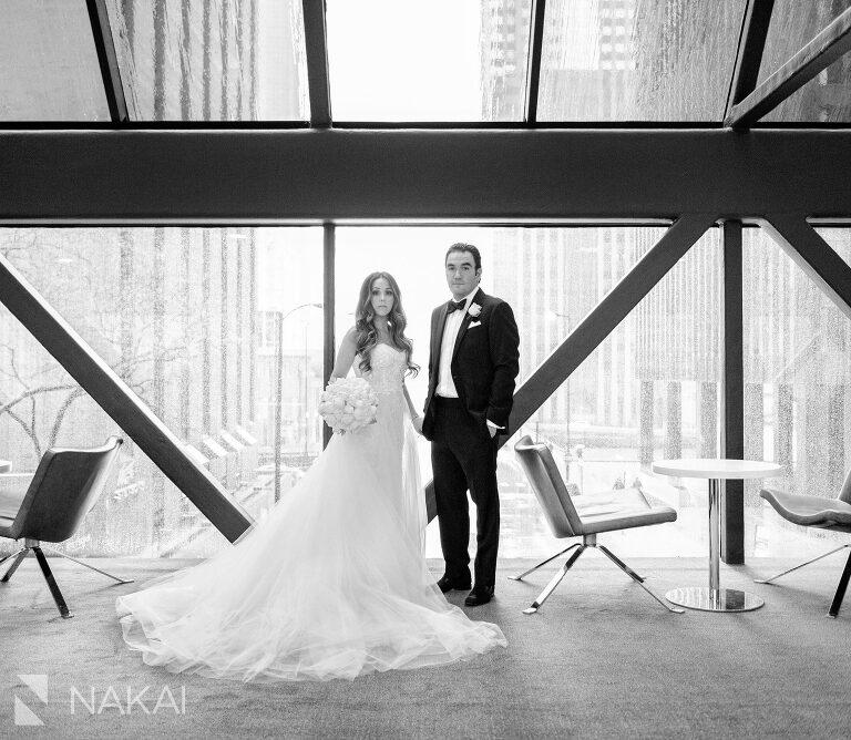 best Hyatt regency chicago wedding photographer downtown