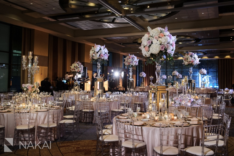 Hyatt Regency Chicago Luxury Wedding Photos Ballroom Reception Venue