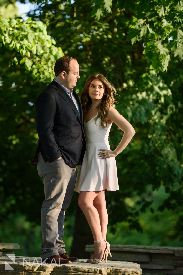 caldwell lily pool engagement photos chicago Lincoln park