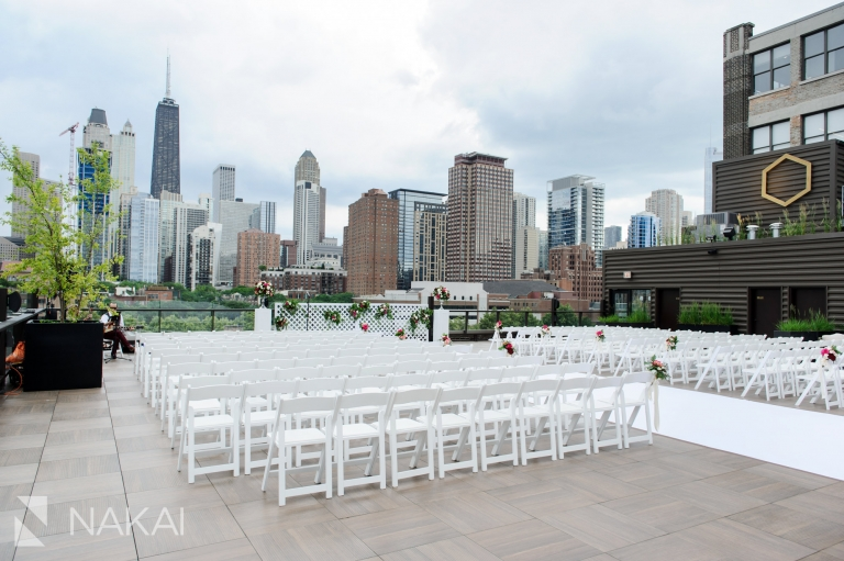 Savage Smyth Rooftop Wedding Venue Chicago Loft Photo