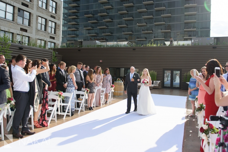 Savage Smyth Rooftop Wedding Venue Chicago Loft Photo