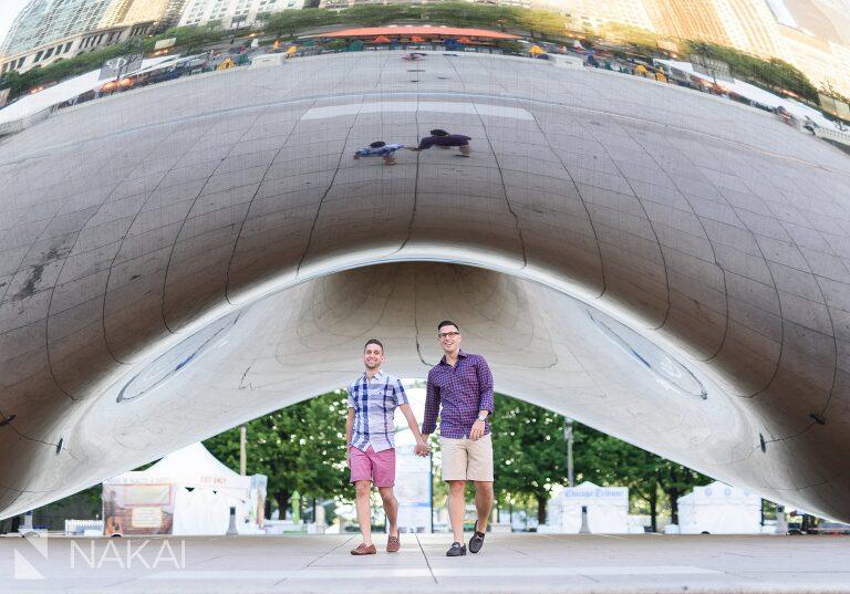 millennium park engagement photographer chicago photos