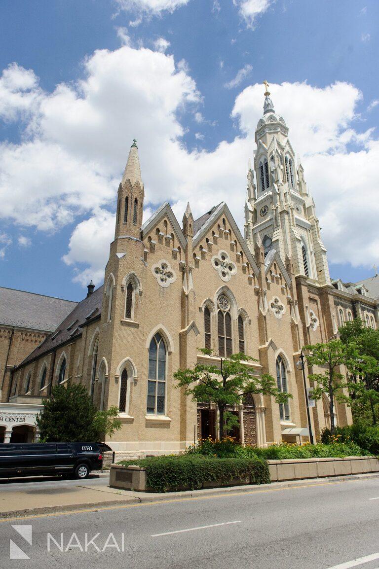 Langham Chicago Wedding Pictures Adler St Ignatius