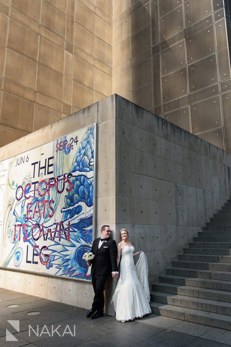 mca Chicago wedding photos