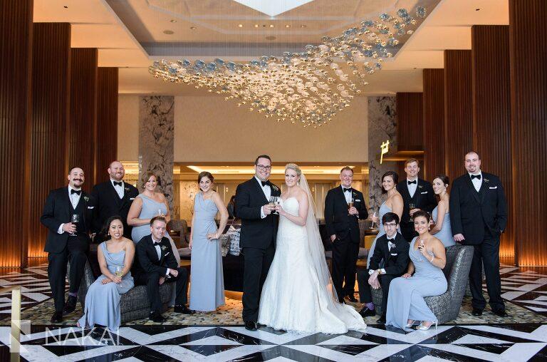 ritz Carlton Chicago wedding photos remodeled renovation lobby