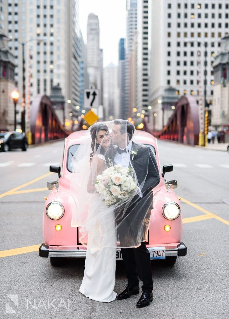 best Chicago luxury wedding hotel photographers Langham