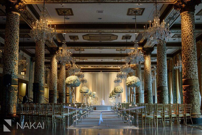 drake chicago photographer Gold Coast wedding ceremony