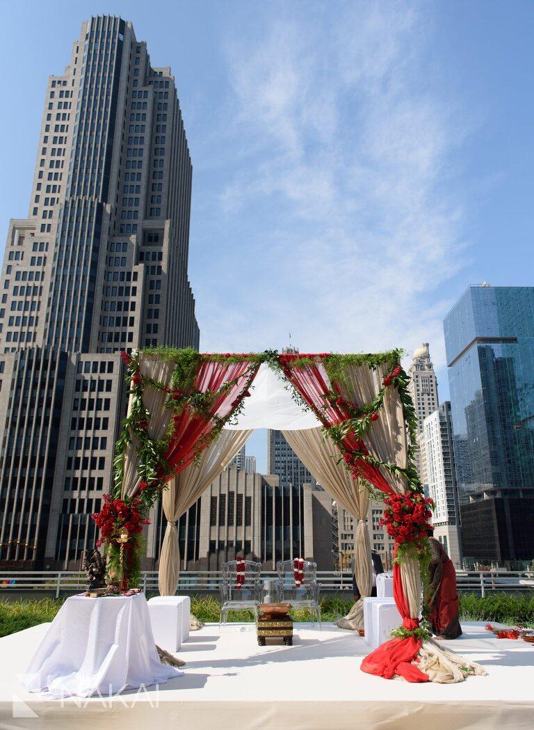 chicago loews hotel wedding photos indian hindu