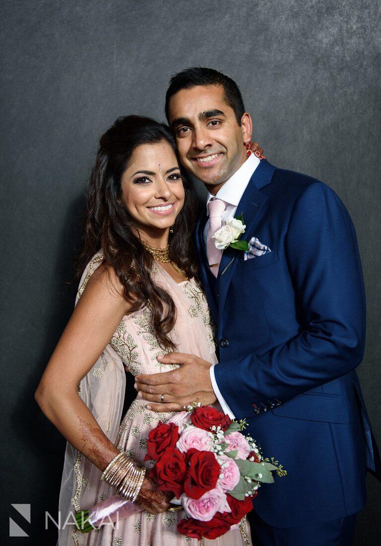 chicago Indian wedding photographer bride groom