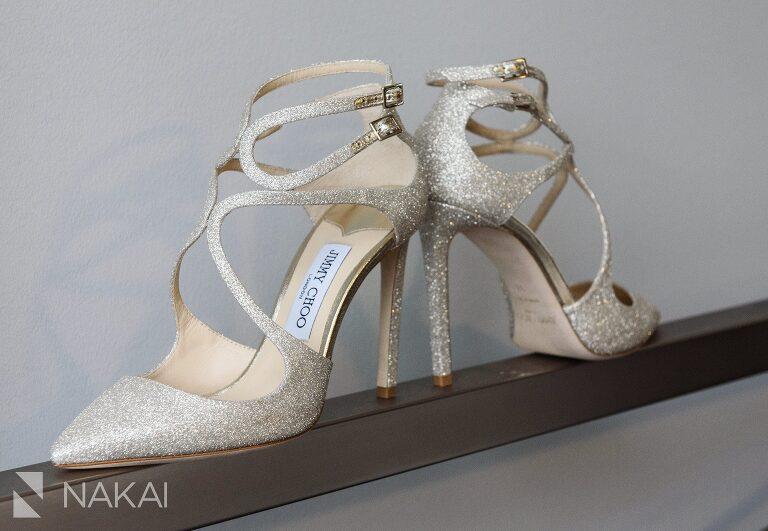 jimmy Choo shoes wedding detail photo