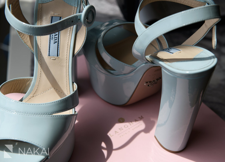 langham Chicago wedding picture shoes details getting ready