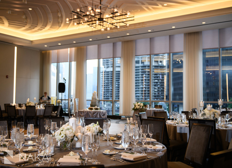 Chicago LondonHouse wedding reception picture