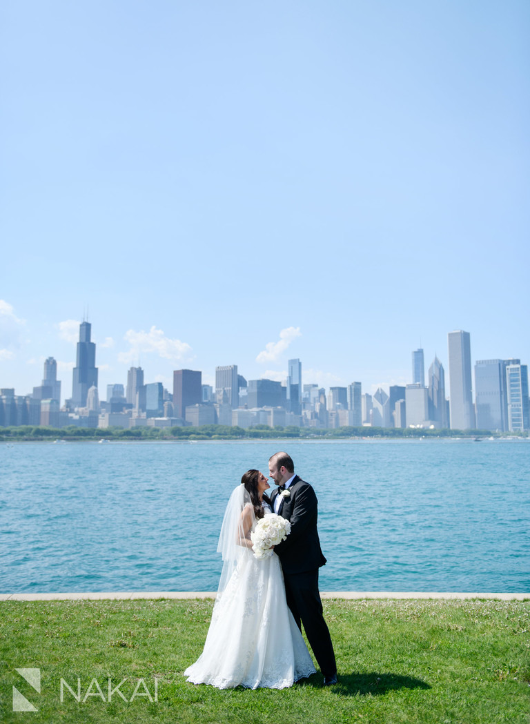 Chicago wedding photography locations skyline