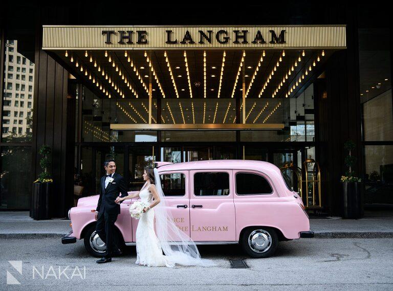 big city bride wedding photo langham Chicago