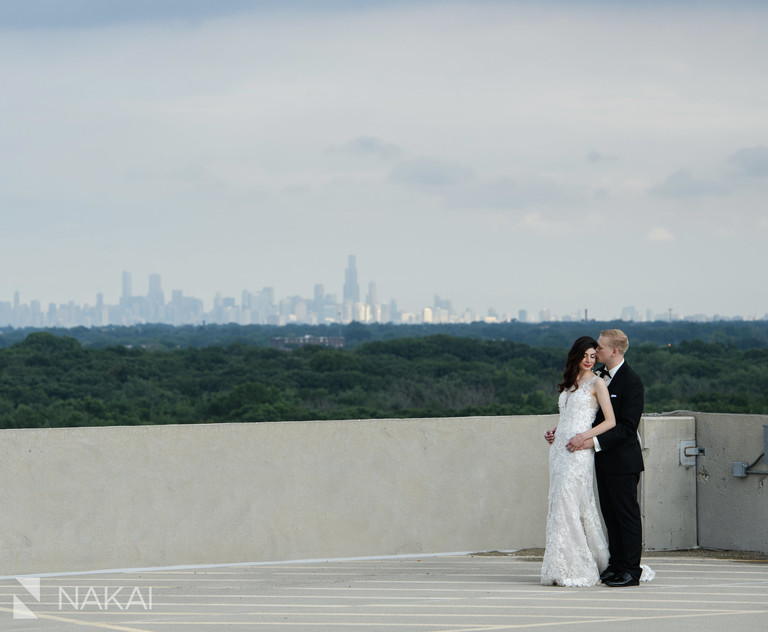 loews Chicago ohare wedding photos hotel photographer