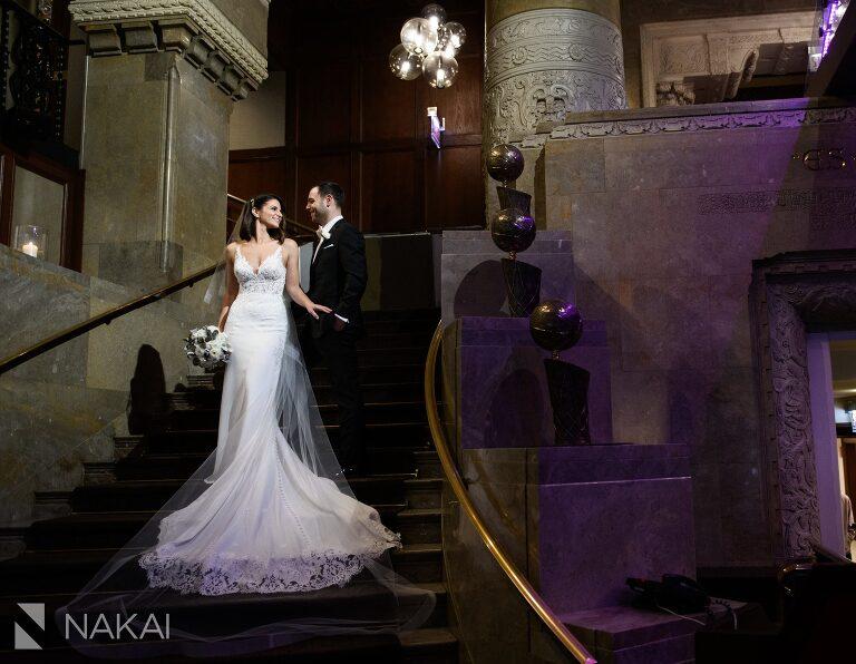 intercontinental wedding photos Michigan avenue
