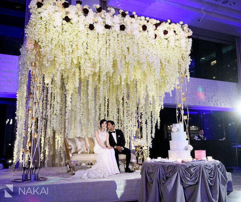 Langham Chicago Luxury Wedding Photographs // Ceremony + Reception