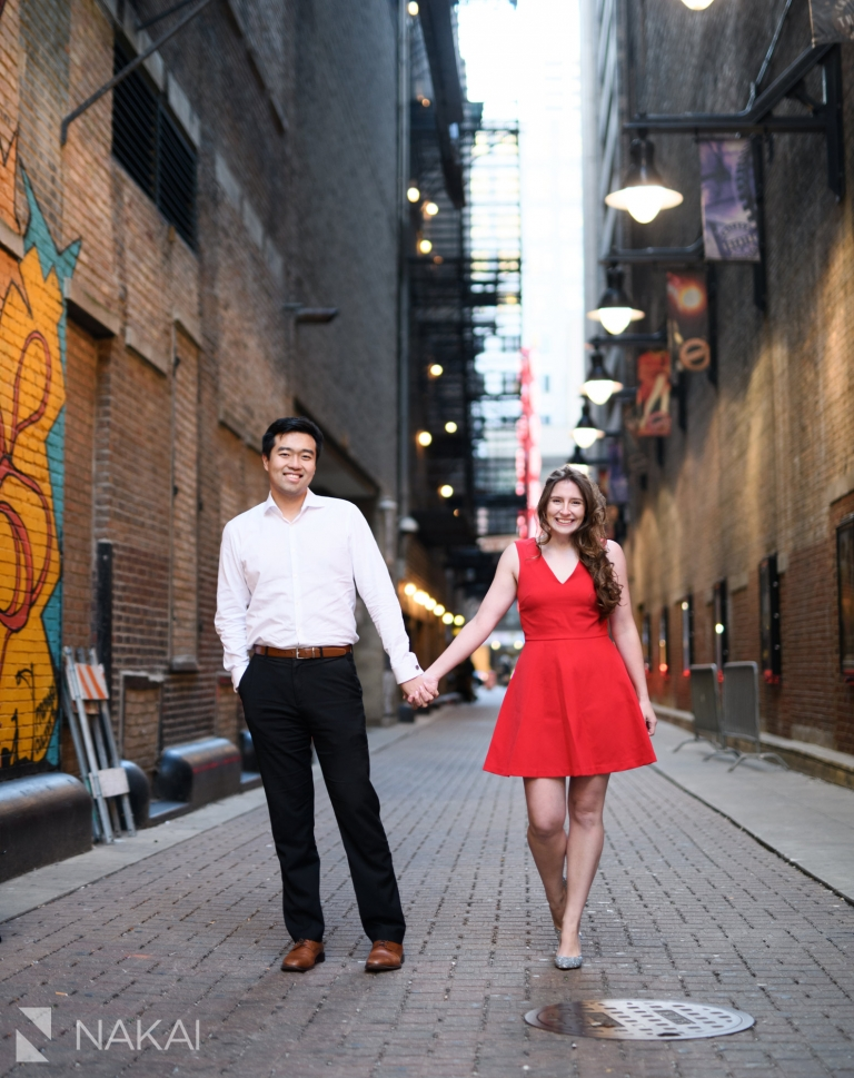Chicago photo engagement session