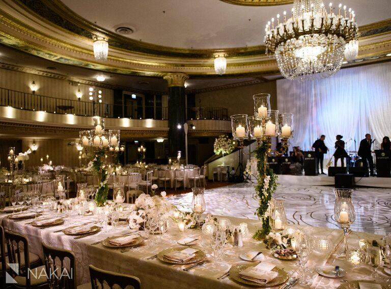 chicago intercontinental magnificent mile wedding photos ballroom