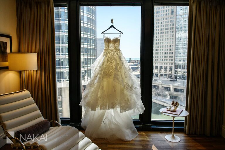 best Chicago luxury wedding photos dress