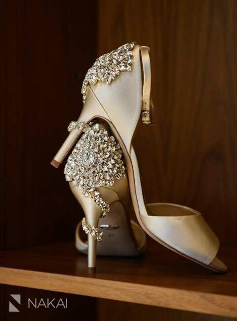 best Chicago luxury wedding photos shoes
