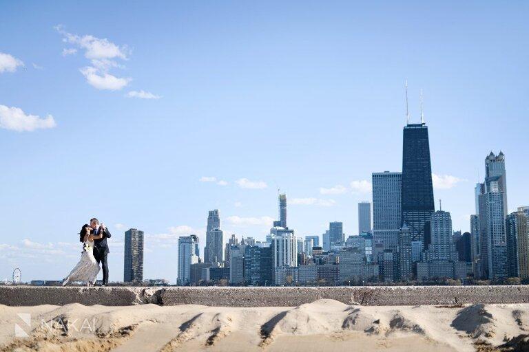 chicago north avenue wedding photographer