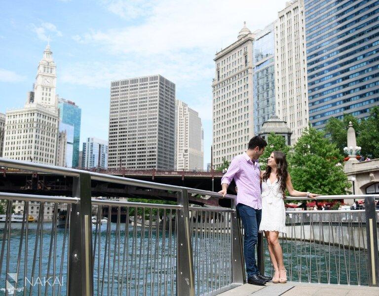 chicago riverwalk best engagement photos