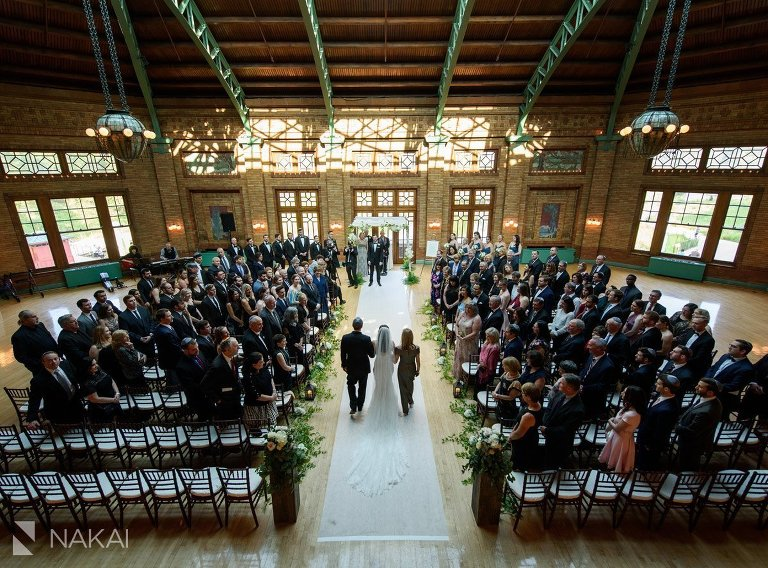 cafe Brauer wedding photo ceremony chicago best venue