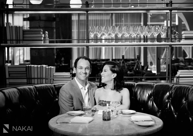 chicago engagement photo at swift and sons