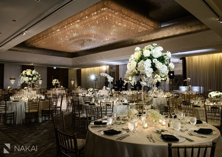 best ritz Carlton chicago wedding photo ballroom reception