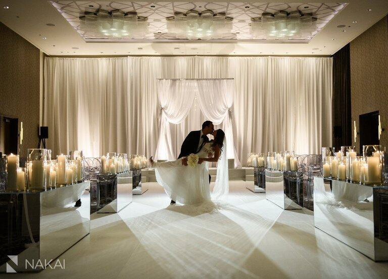 best chicago wedding photographer loews hotel bride groom