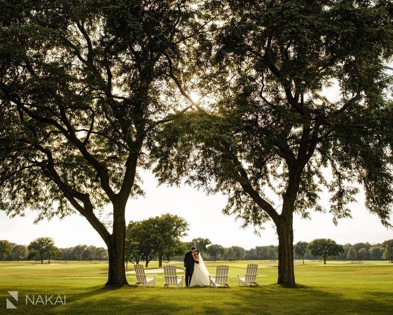 knollwood club il wedding photos lake forest golf club