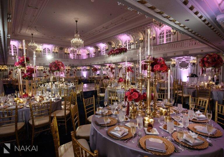 Blackstone hotel wedding photos reception details