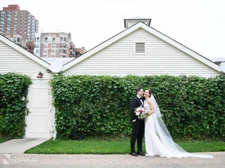 saddle and cycle wedding photos bride groom chicago