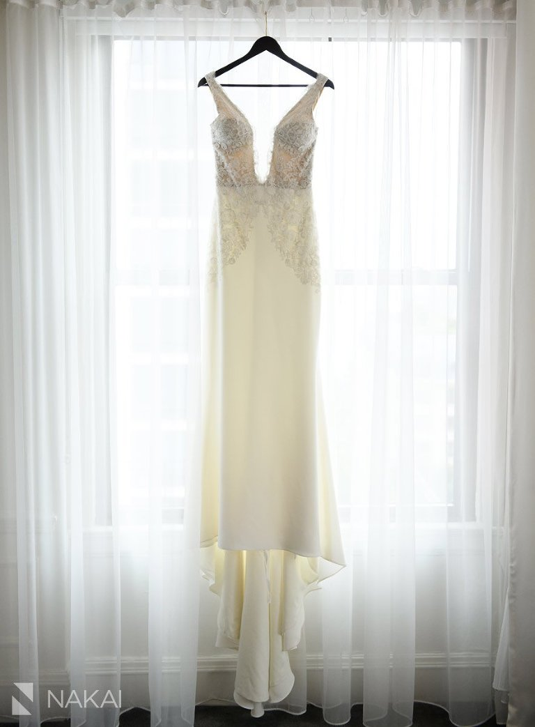 chicago ambassador wedding photos dress details