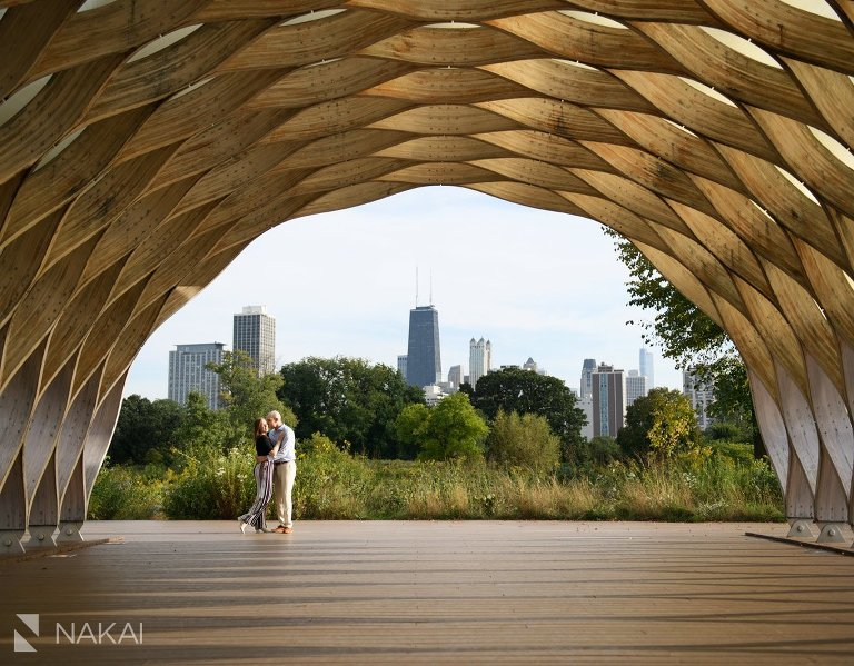 Lincoln park engagement photographer honeycomb south pond
