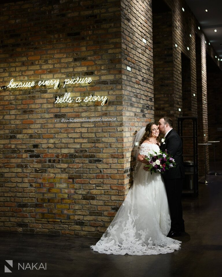 Radisson blu chicago wedding photographer
