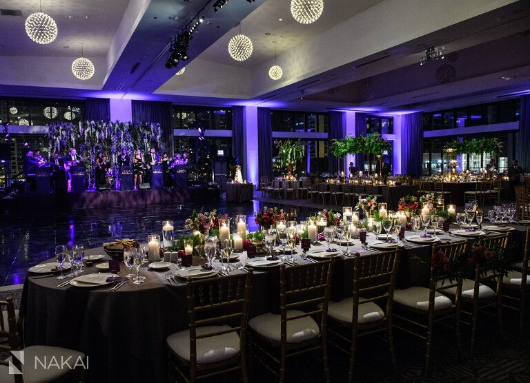 hmr designs Radisson blu chicago wedding photo