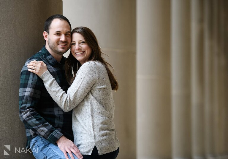 chicago proposal photographer engagement union station