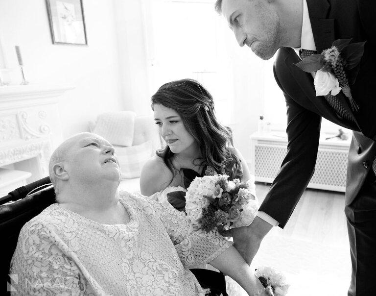 covid 19 wedding photos cancer ceremony mother of bride