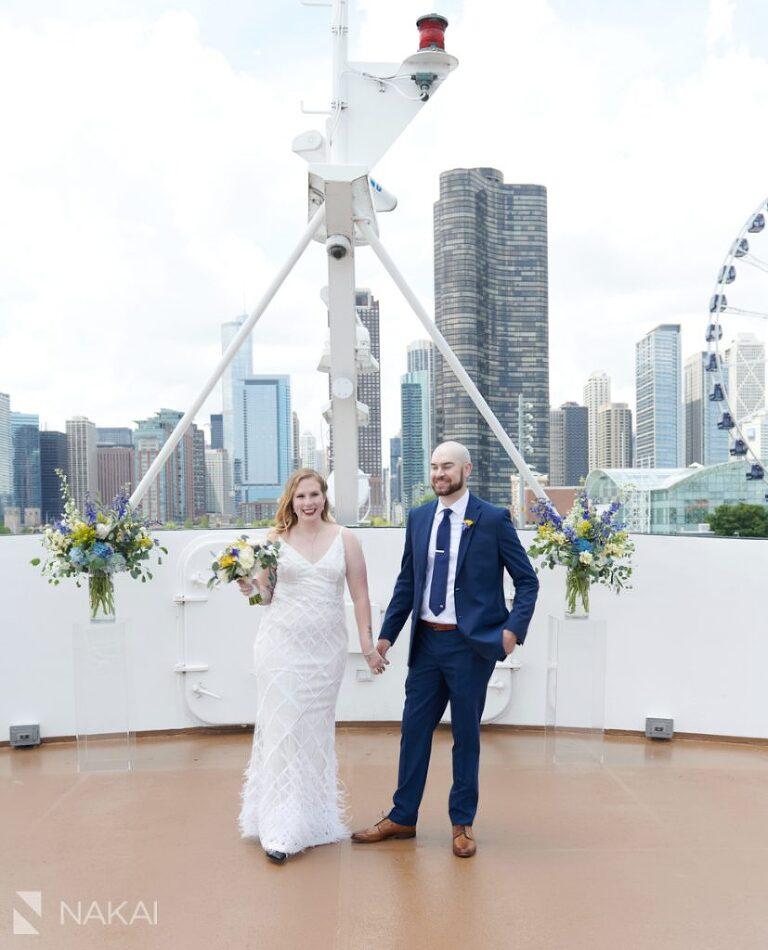 chicago micro wedding photographer bride groom