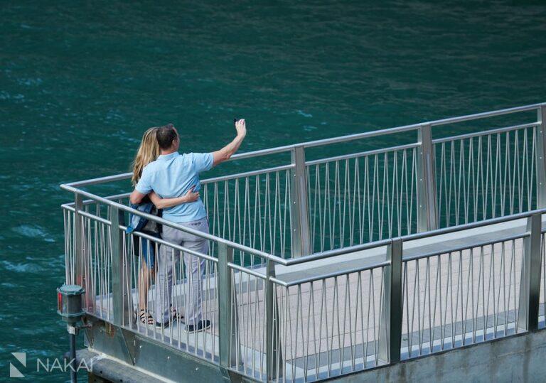 chicago proposal photos riverwalk