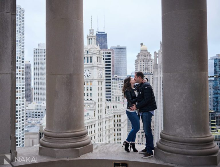 best chicago proposal photos londonhouse cupola