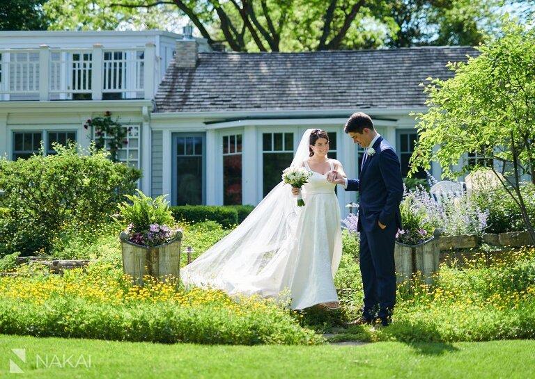 Chicago northshore backyard wedding photo