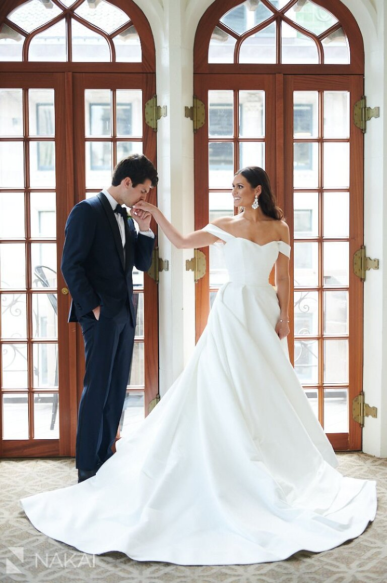 university club of Chicago wedding photography