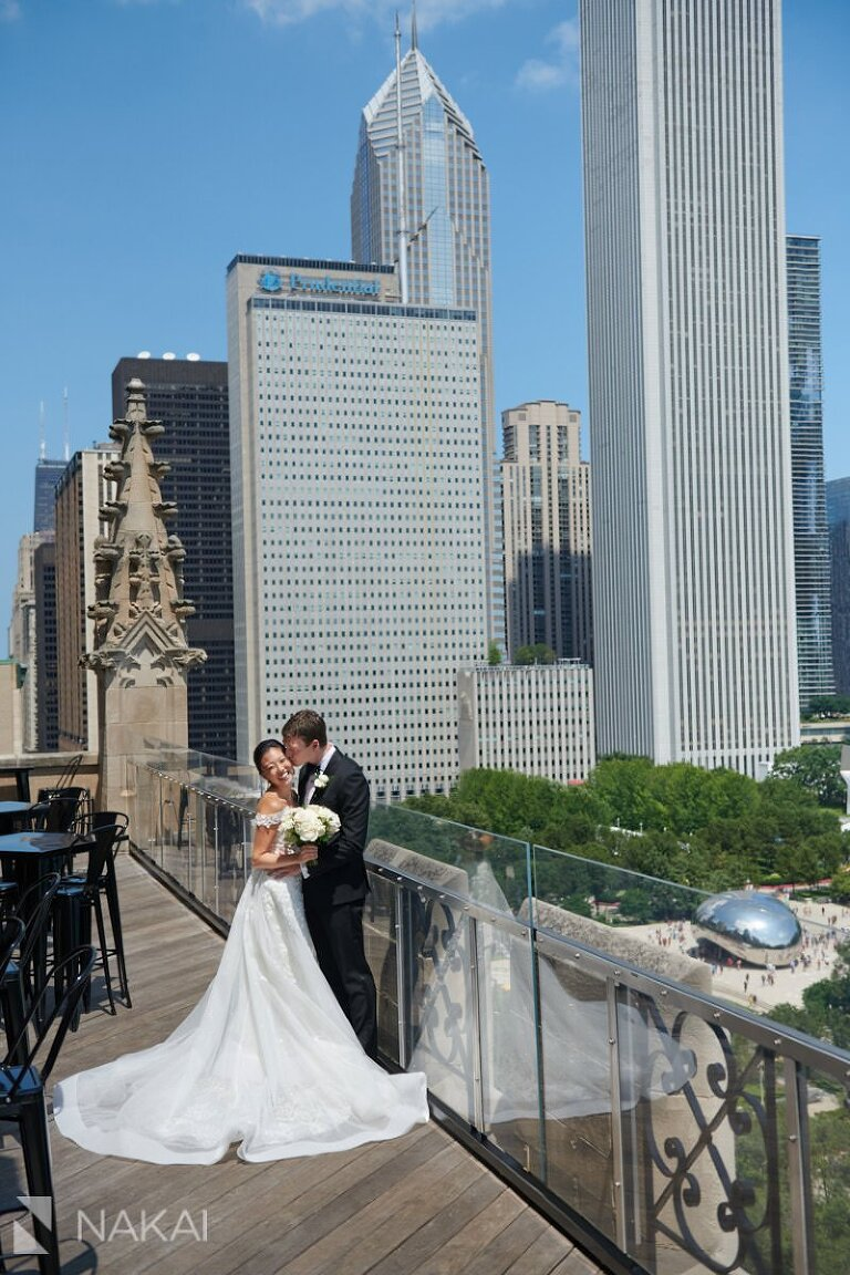 university club of chicago wedding photography bride and groom